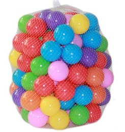 Wholesale Hot Eco Friendly Colorful Soft Plastic Water Pool Ocean Wave Ball Baby Funny Toys stress air ball outdoor fun sports