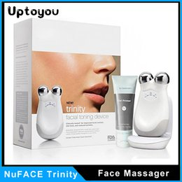 Wholesale NuFace Trinity PRO Facial Toning Device Face Massager PROFESIONAL SERIES TRAINER KIT SEALED Massage Free DHL Uptoyou