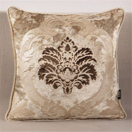 discount home decorating bedding almofadas decorativas para sofa pillows decorate home decoration luxurious velvet pattern cover