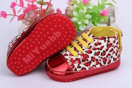 Wholesale Baby girls shoes Leopard Toddler shoes soft sole baby Walkers Wear Comfortable kids Casual Shoes K010