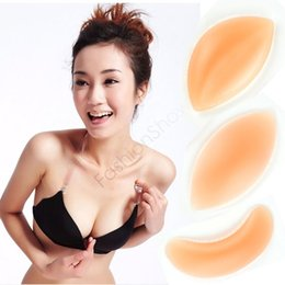 Wholesale Fast Shipping Cheap Silicone Gel Bra Super Stickiness Invisible Inserts Pads Push Up Enhancer Breast No Harm