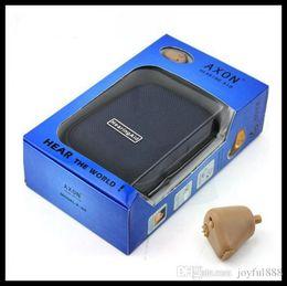 Wholesale best buyear sound voice amplifier AXON K Rechargeable Hearing Aids Aid Audiphones Behind Ear Sound Voice Amplifier H473