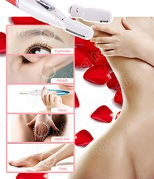 Wholesale Micro Precision Electric Eyebrow Trimmer Bikini Face Hair Remover Wet Dry Shaver SV006401