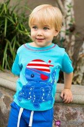 Wholesale New Brand cotton Short Sleeve T Shirts Kids Wear Clothing Tees cool Cartoon Boys T Shirts Children Baby T Shirt top