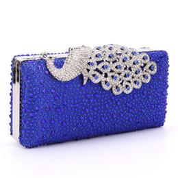 royal blue purse clutch