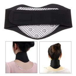 Wholesale Braces Supports Tourmaline Self Heating Neck Guard Far Infrared Magnetic Therapy Health Care Cervical Tool H14045