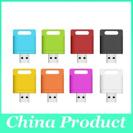 Mini Wifi SD Lector de tarjetas U Disco extendido teléfono memoria USB Flash Drive para teléfono inteligente 010073