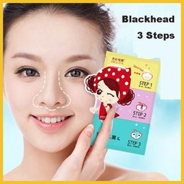 Wholesale Pilaten Blackhead Remover Steps Paster Blackhead Export Paster Blackhead Strip Paster Shrink Pore Paster Blackhead Mask Set