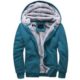 Wholesale Mens Clothing Hoodies New Fashion Winter Autumn Men s Long Sleeve Hoodies Sweatshirts Casual Short Man Zipper Sweater Jacket