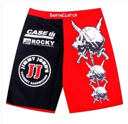 Wholesale Death Clutch Brock Lesnar Vale Tudo Fight shorts breeches beach shorts for AAA excellent quality