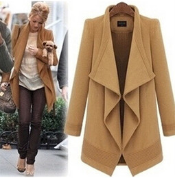 Wool Camel Coat Women