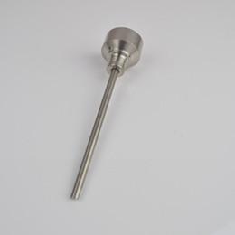 Cap prego Carb preço de fábrica GR2 Titanium com furo lateral para dabber