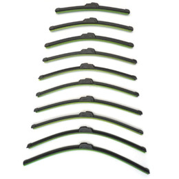 Universal U-tipo Limpiaparabrisas Frameless Parabrisas Limpiaparabrisas Bracketless Limpiaparabrisas suave con todos los diferentes tamaños K1168