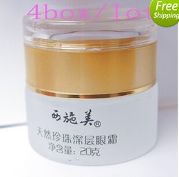 Wholesale 2015 hot selling boxes XISHIMEI Natural Pearl Deep Infusing Eye Cream xishimei eye cream g