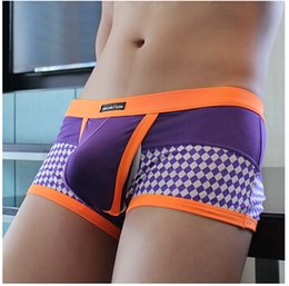 Wholesale 2015 New High Quality Mens Modal Brief Men s Sexy Underwear Briefs Comfy Low Rise Enhance Pouch Male Boy Shorts Bottoms Tanga M L XL xxl