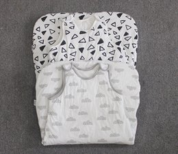 Wholesale New Girls Boys baby sleeping bag zipper children sleeping bag cotton baby vest Years old