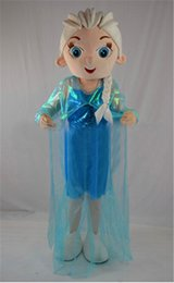 Wholesale Halloween Costumes Costumes Fashion Children Elsa Anna Costume Sets Doll Clothes Fits quot American Girl bh2 Frozen Doll Costumes