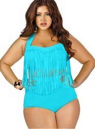 Wholesale Tassels Bikini Fashion Plus Size Bikinis High Waist Bikini Sexy Women Bikini Swimwear Swim Suit Bath Suit Colors