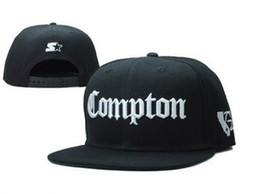 online shopping 2015 SSUR Snapback Cap Compton Black White Hats hip pop mens women classic Cheap fashion adjustable snapbacks caps High quality street hat
