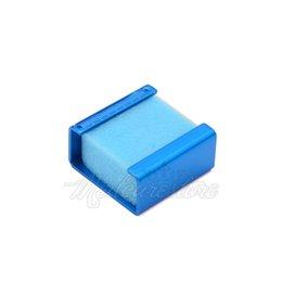 Wholesale 1 pieces Blue New Dental Endo Files Square Frame with Sponge Endo Ruler Creative Endo Accessories