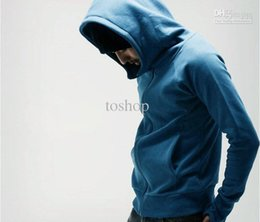 Wholesale Special offer Brand recommend cotton fleece Men s hoodies Men clothes colors long sleeved Fashion