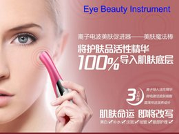 Wholesale Hot Eye beauty instrument beauty cream to eliminate dark circles eye bags under the eye massage instrument eye massager