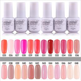 Wholesale YeManNvYou Top Quality Long lasting Colors soak off gel polish nail UV gel lacquer gelish nail polish uv gel For women Color ml