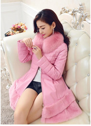 Discount Hot Pink Leather Coats | 2017 Hot Pink Leather Coats on ...