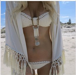 Wholesale MANGA Beach Designer Swimwear High Quality Summer Sexy Bikini Tassel Decoration Fashion Swimsuits for Women