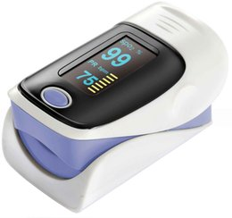 Wholesale Fingertip Pulse oximeter with FDA CE proved OLED screen direction change SPO2 Monitor display Home Care FIVE Colors