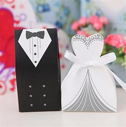 Wholesale Sweet Box Candy Box Sweet Box Wedding Bride and Groom Dress Box Wedding Box Lovely Candy and Decoration Box