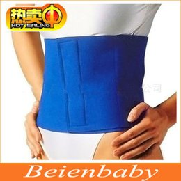 Wholesale New Hot Sauna Neoprene Body Fitness Wrap Fat Cellulite Burner Slimming Shaper Waist Belt