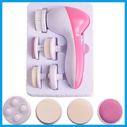 Wholesale 2016 in1 Multifunction Electric Face Facial Cleansing Brush Spa Skin Care Massage