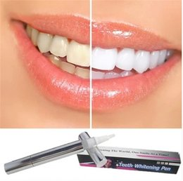 Wholesale Hot selling Teeth Whitening Pen Soft Tooth Gel Product Silvery White Bleach Stain Eraser g Whitening Tooth Care Tool Whitening Kit