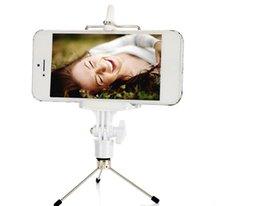Pour l'iPhone 6 Professional Bluetooth Handphone d'Obturation Contrôleur+Handphone Clip+de titulaire téléphone+mini Trépied pour smartphone/appareil photo/tablette