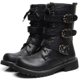 Discount Goth Boots Men | 2017 Goth Boots Men on Sale at DHgate.com