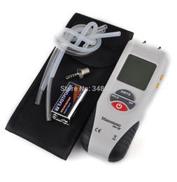 Оптово-Высокое качество манометры цифровой манометр Портативный ЖК-воздушный манометр дифференциального давления Manometro бесплатная доставка