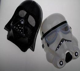 2 Color Halloween Festival horror mask Star Wars the Darth vader mask Strom Trooper darth vader mask Party Mask cosplay mask B246 01