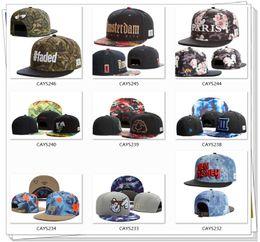 Wholesale HOT SALE New arrival fashion new style high quality snapback ball caps hats snapbacks adjustable many styles good service