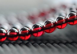 Wholesale Hot Sale quot Natural Gamet Round Beads Semi Precious Stone TOP GRADE mm Loose Beads