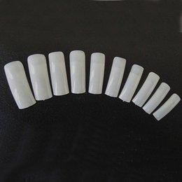 Wholesale 500 PC set gel ULTRAVIOLETA de acrílico natural de acrílico francés falso del clavo Estilo Herramientas Consejos Arte M01277 fin de seguimiento Nadie