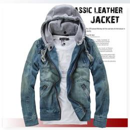 Discount Blue Denim Jacket Hoodie | 2017 Blue Denim Hoodie Jacket ...