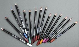 Wholesale New Cheap Makeup Eye Pencil Lip Liner Pencil WaterProof Multi Colors Pencil