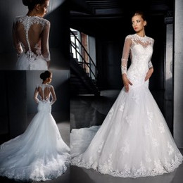 Trumpet Cathedral Style Wedding Dresses Online  Trumpet Cathedral ...