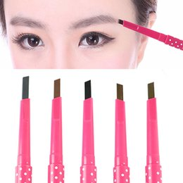 Wholesale Hot Hot Hot Newest Arrivals Twister Easy Twist Auto EyeBrow Liner Pencil Cosmetic tx6 Sets MOQ set