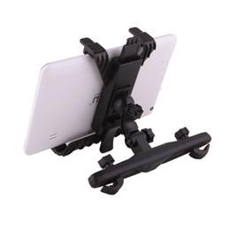 IRULU Asiento trasero para el asiento Soporte para la cabeza Soporte ajustable para iPad 2/3/4 Tablet PC Stand Soporte para tableta Android