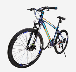 Factory price Easy try 21-speed mountain bike bike all aluminum two-disc brake damping speed boys bicycle