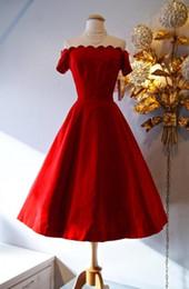 Vintage Style Tea Length Bridesmaid Dresses Online | Vintage Style ...
