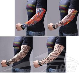 Wholesale 100 Tattoo Sleeves Outdoor Radiation Protection Arm Leg tattoo designs personal tattoo cycling sleeve sunscreen Spring Style