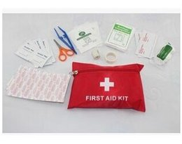 Wholesale Lowest Price Sets First Aid Kit For Outdoor Travel Sports Emergency Survival Indoor Or Car Treatment Pack Bag